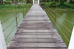De brug van de kabel Stock Fotografie