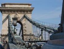 De brug van de ketting Stock Foto's