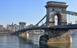 De Brug van de ketting, Boedapest Royalty-vrije Stock Fotografie