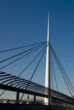 De Brug van de klok, Glasgow Royalty-vrije Stock Foto's