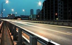 De brug van de nacht Royalty-vrije Stock Afbeelding