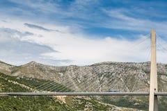 De Brug van de opschorting Bridge Royalty-vrije Stock Fotografie