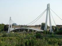 De Brug van de opschorting Bridge Royalty-vrije Stock Foto