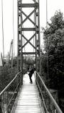 De Brug van de opschorting Bridge Stock Afbeeldingen