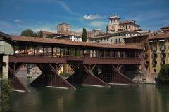 De Brug van de renaissance (project door Palladio) Royalty-vrije Stock Fotografie