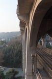 De Brug van de Rivier van Yangtze van Wuhan royalty-vrije stock afbeelding