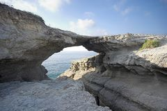 De brug van de rots Royalty-vrije Stock Afbeelding