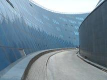 De brug van de stad royalty-vrije stock afbeeldingen