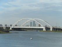 De brug van de stad royalty-vrije stock foto