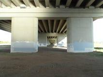 De brug van de stad stock foto