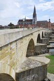 De brug van de steen Royalty-vrije Stock Foto's