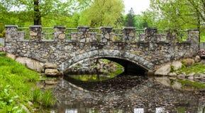 De brug van de steen Stock Afbeeldingen