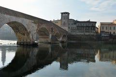 De brug van de steen Stock Afbeelding