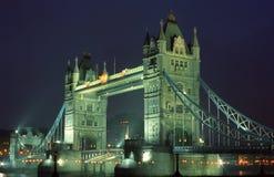 De brug van de toren Stock Afbeeldingen