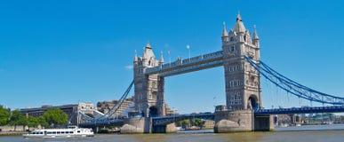 De Brug van de toren, Londen. Stock Foto's