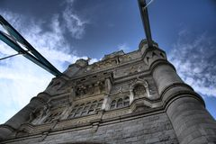 De Brug van de toren in Londen Stock Foto