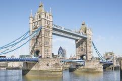 De Brug van de toren, Londen. Royalty-vrije Stock Afbeelding