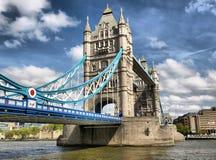 De Brug van de toren, Londen stock afbeeldingen