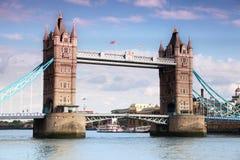 De Brug van de toren in Londen. Royalty-vrije Stock Foto's