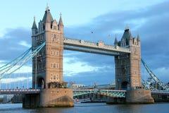 De Brug van de toren, Londen. Stock Foto