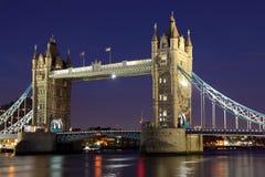De Brug van de toren, Londen Stock Foto