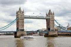 De brug van de toren in Londen Royalty-vrije Stock Foto's