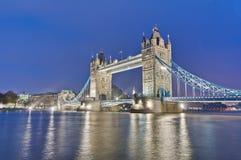 De Brug van de toren in Londen, Engeland Stock Fotografie