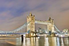 De Brug van de toren in Londen, Engeland Stock Foto's