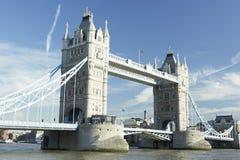 De Brug van de toren, Londen, Engeland Stock Foto's
