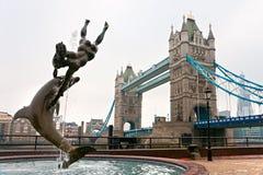 De Brug van de toren, Londen, het UK Royalty-vrije Stock Afbeeldingen