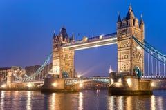 De Brug van de toren, Londen, het UK Royalty-vrije Stock Foto