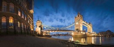 De Brug van de toren, Londen, het UK Stock Foto