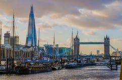 De Brug van de toren in Londen, het Verenigd Koninkrijk Royalty-vrije Stock Foto