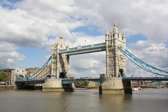 De Brug van de Toren van Londen Stock Foto's