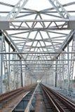 De brug van de trein Royalty-vrije Stock Fotografie