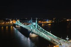 De brug van de vrijheid Stock Afbeelding