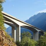 De brug van de weg Royalty-vrije Stock Afbeelding