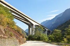 De brug van de weg Royalty-vrije Stock Fotografie