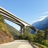 De brug van de weg Royalty-vrije Stock Foto