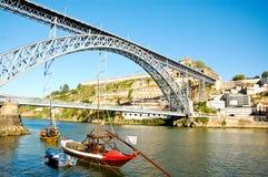 De brug van Dom Luï ¿ ½ s in Porto in Portugal Royalty-vrije Stock Fotografie