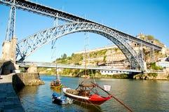 De brug van Dom Luï ¿ ½ s in Porto in Portugal Royalty-vrije Stock Afbeelding