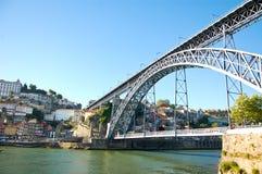 De brug van Dom Luï ¿ ½ s in Porto in Portugal Royalty-vrije Stock Foto's