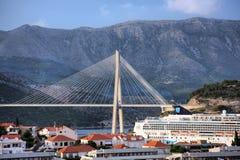 De brug van Dubrovnik royalty-vrije stock foto's