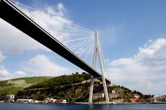 De brug van Dubrovnik stock afbeelding