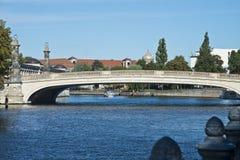 De brug van Friedrich, Berlijn, Duitsland Royalty-vrije Stock Fotografie