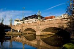 De brug van Göteborg Stock Afbeeldingen
