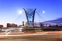 De brug van Garbatella in Rome Royalty-vrije Stock Foto's