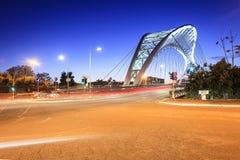 De brug van Garbatella in Rome Royalty-vrije Stock Afbeelding
