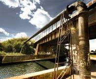 De brug van Graffiti Royalty-vrije Stock Afbeeldingen