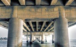 De brug van Grunge Royalty-vrije Stock Fotografie